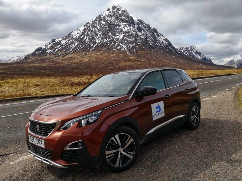 Noleggio auto Scozia nostra esperienza