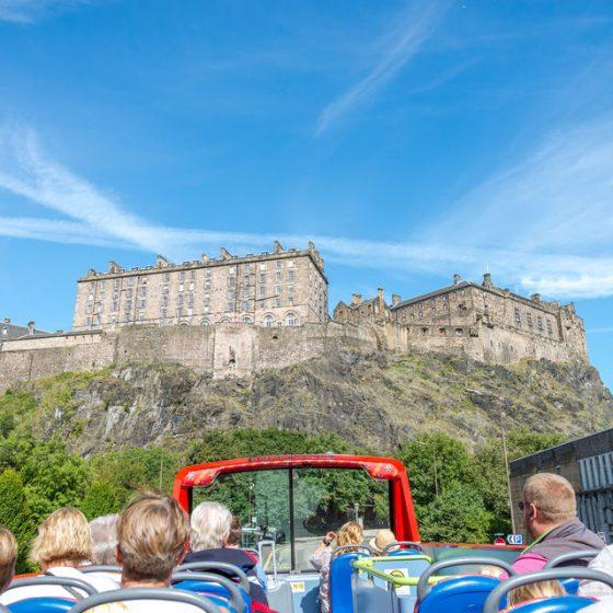 Bus panoramico Edimburgo Scozia