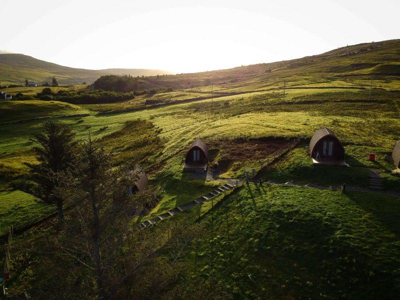 Glamping Scozia Skye