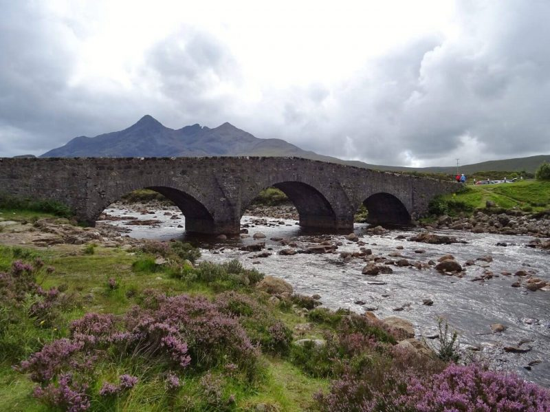 Sligachan Bridge Scotland