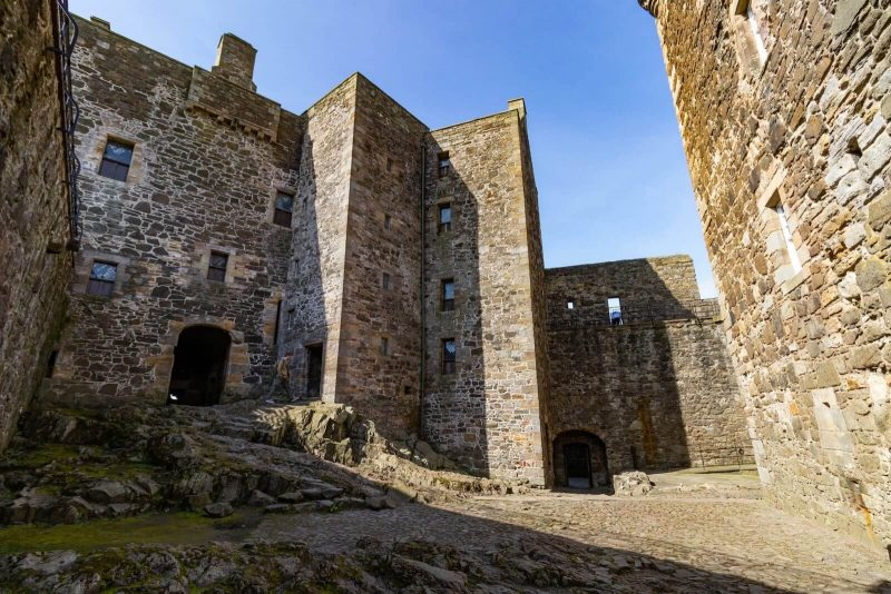 Blackness Castle Scozia Outlander