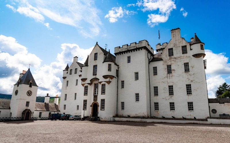 Blair Castle Scozia