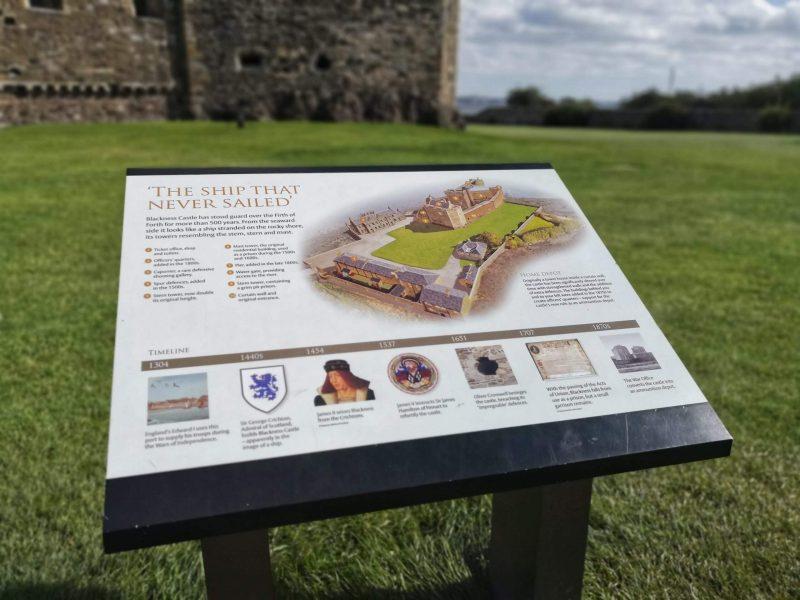 Blackness Castle nave mai salpata