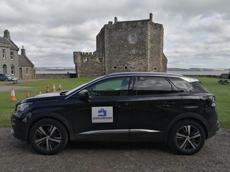 Blackness Castle parcheggio