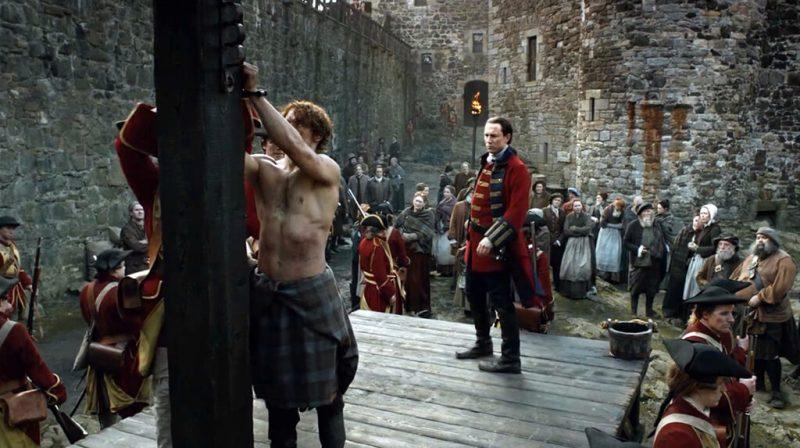 Blackness Castle Outlander