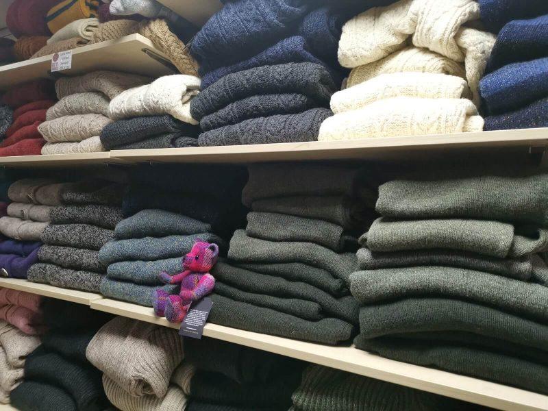 Harris Tweed negozio