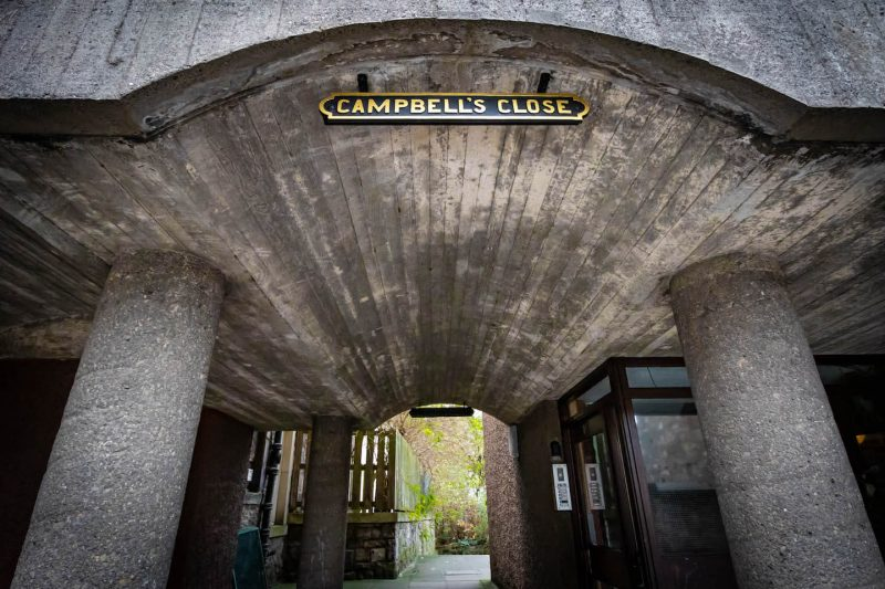 Campbells Close Edimburgo