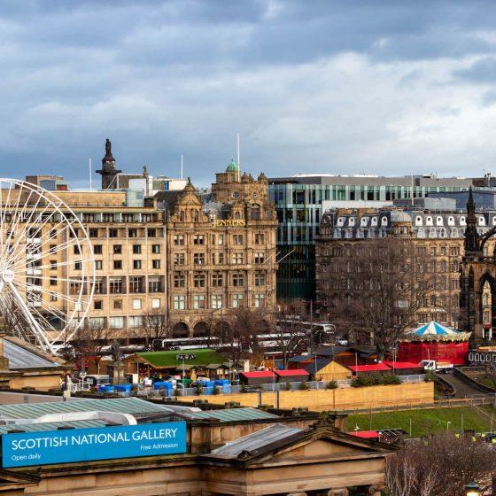 Edimburgo con bambini