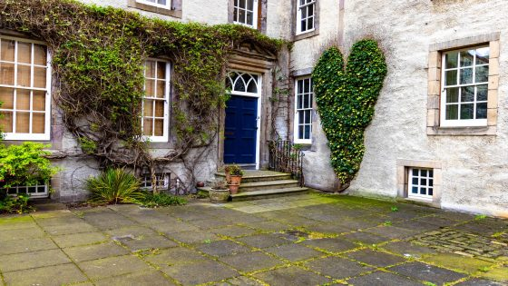 Edimburgo giardini segreti