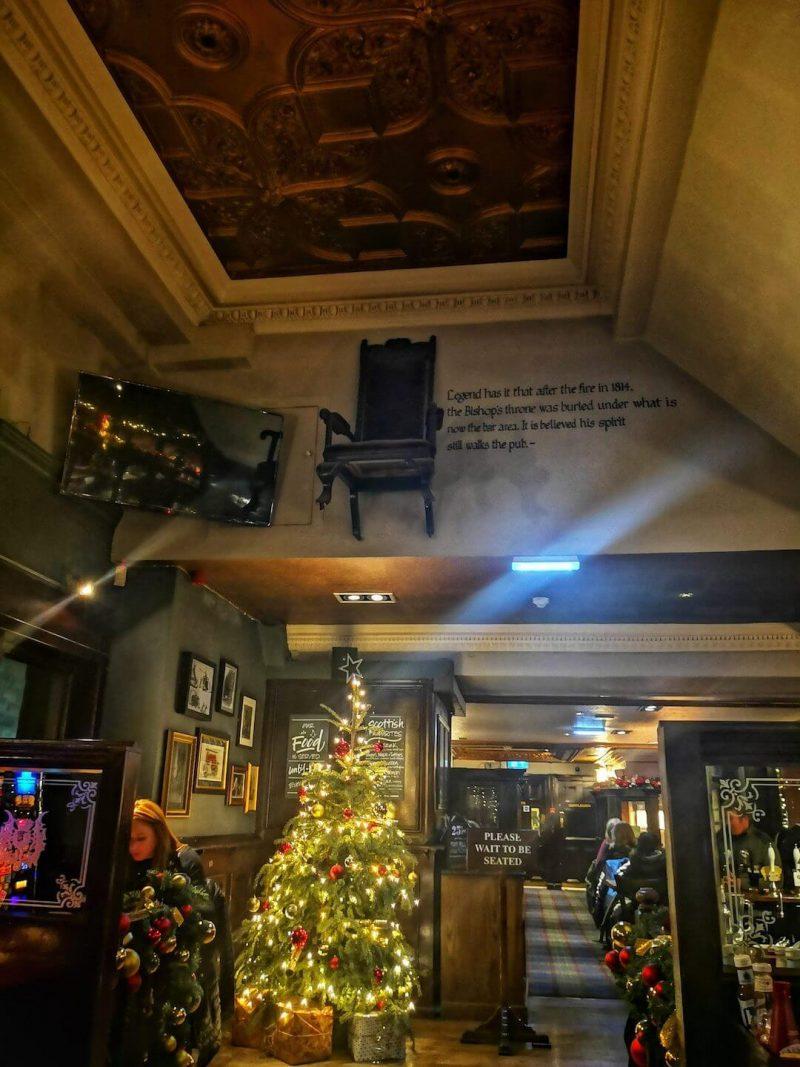 Dove mangiare Edimburgo Mitre pub