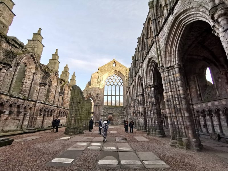 Edimburgo Holyrood Abbey
