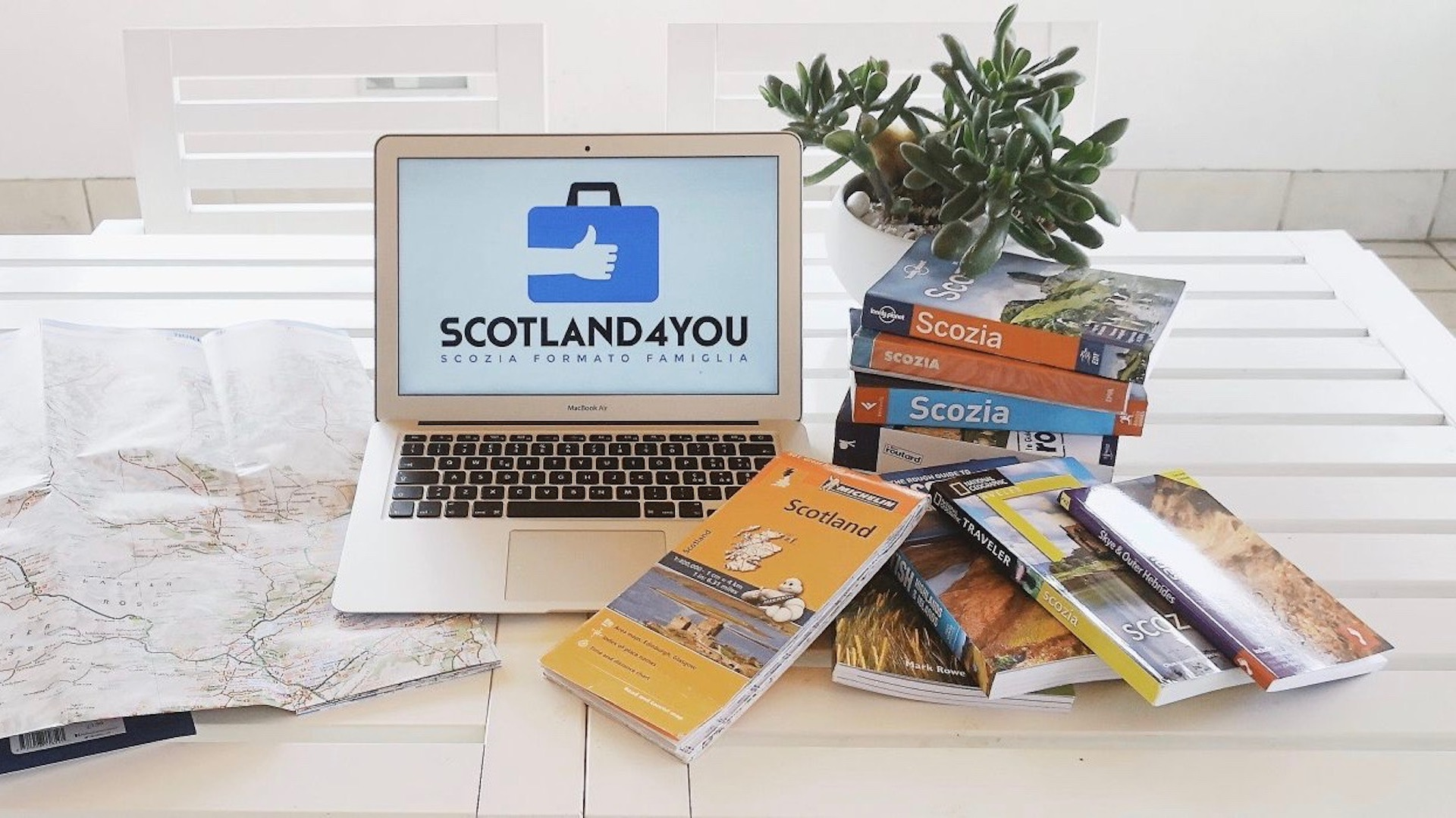 Guide e Mappe Scozia