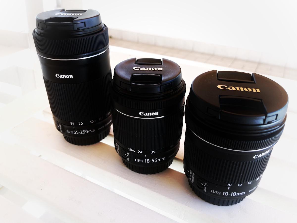 Obiettivi fotografici Canon