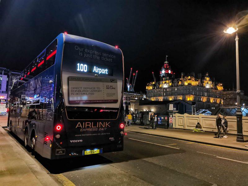 Edimburgo airlink come arrivare