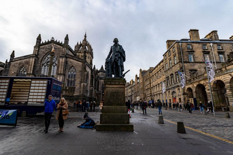 Adam Smith Royal Mile