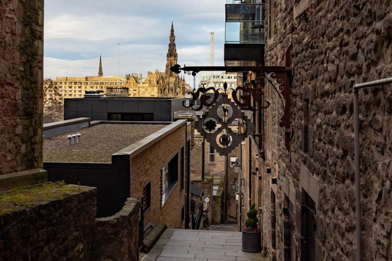 Advocate Close Edimburgo