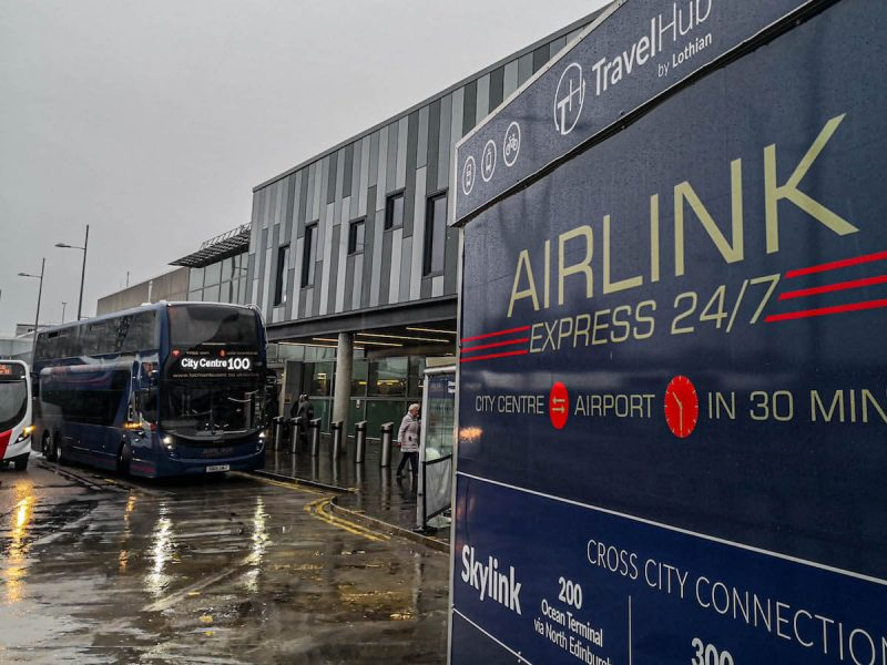 Edinburgh airlink aeroporto