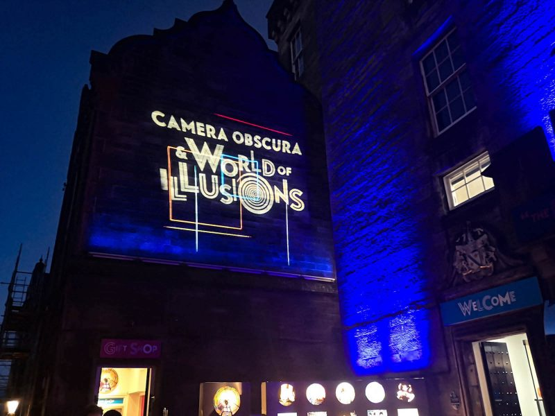 Camera Obscura Royal Mile
