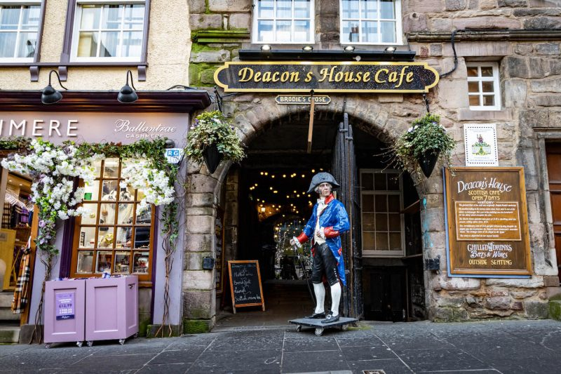 Deacon's Close Royal Mile