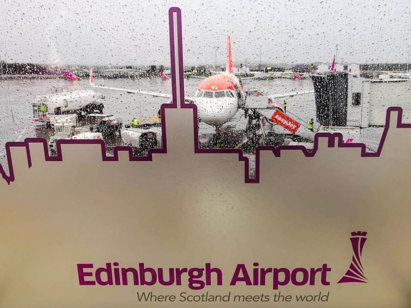 Edimburgo aeroporto come arrivare