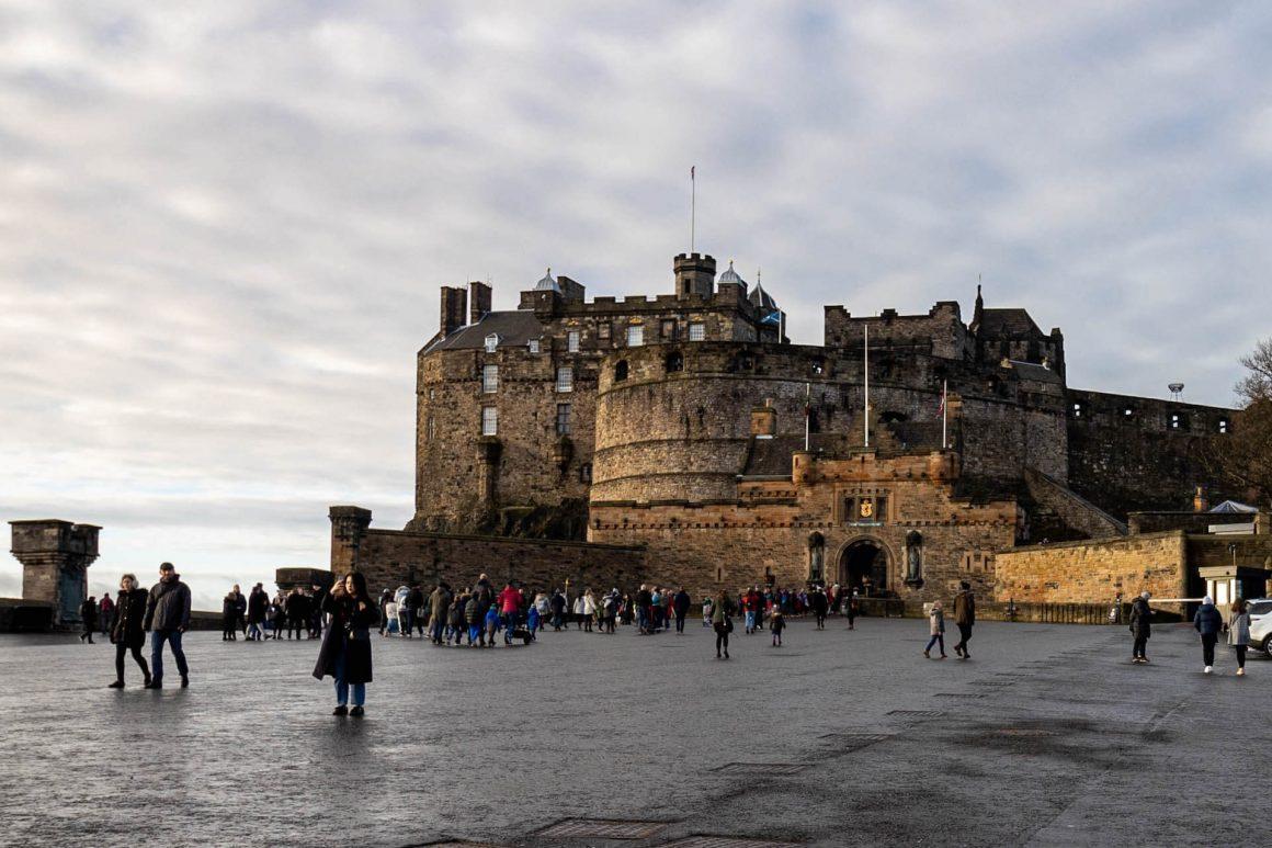 Esplanade Castello Edimburgo