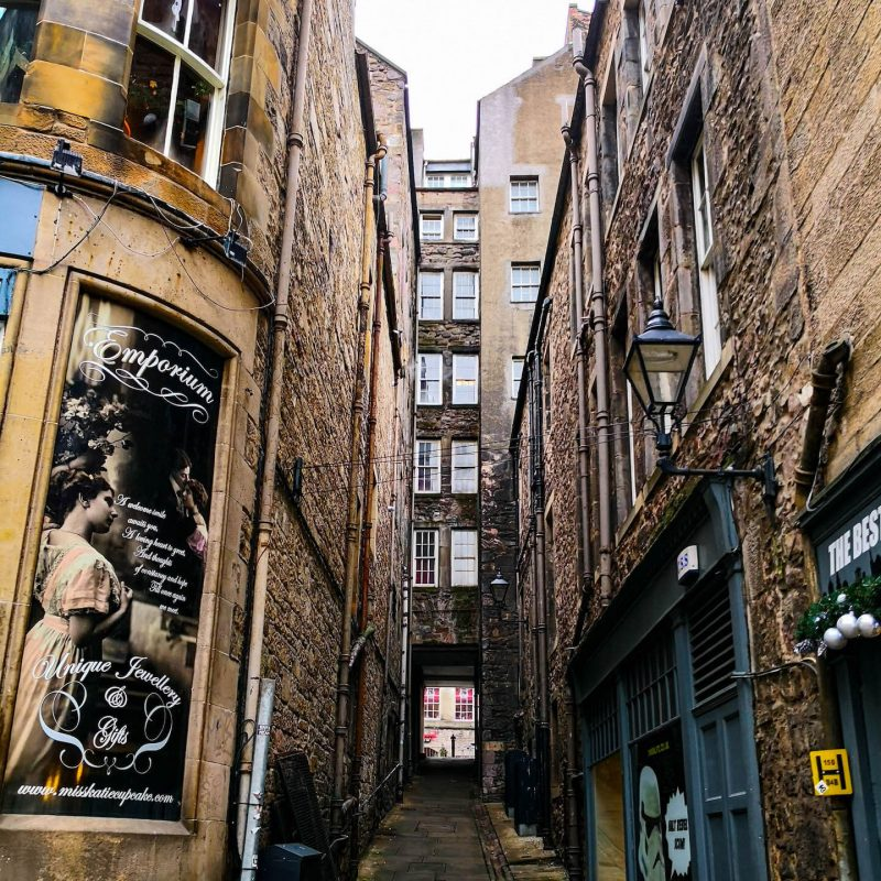 Fleshmarket Close Edinburgh