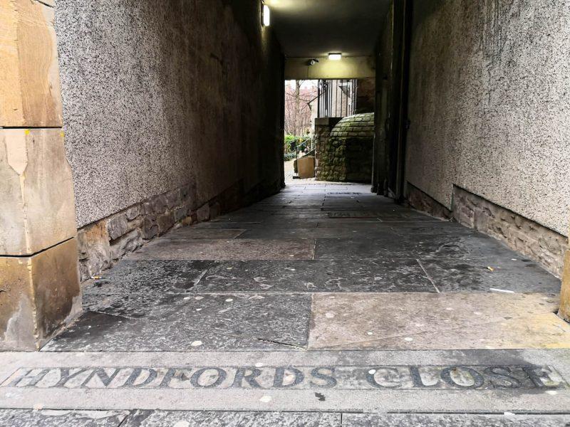 Hyndford's Close Royal Mile