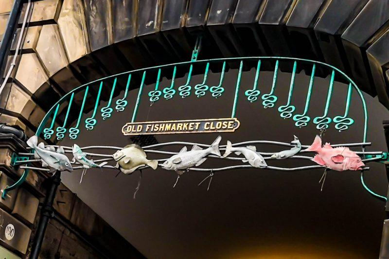 Old Fishmarket Close Royal Mile