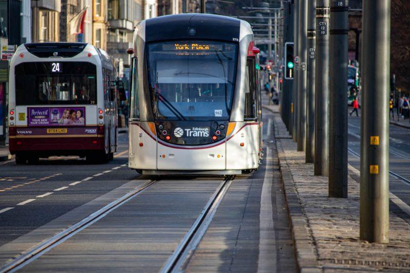 tram edimburgo