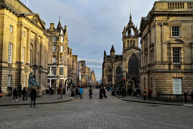 Royal Mile Edimburgo Scozia