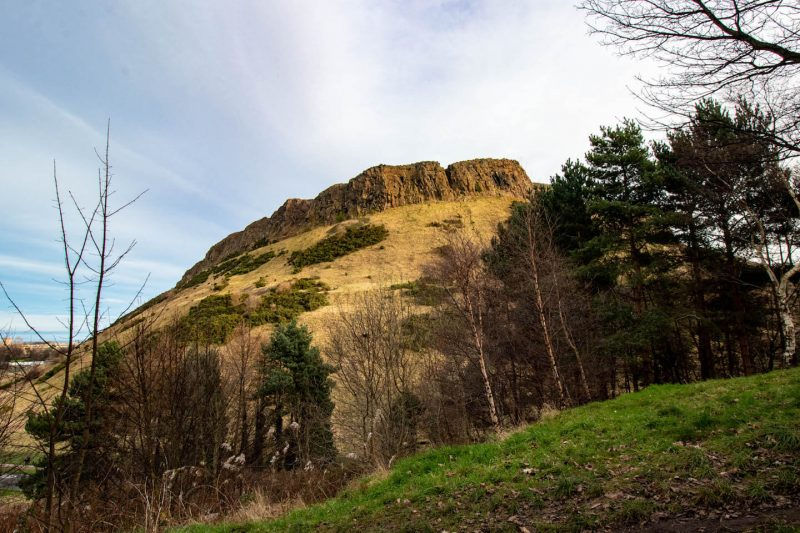 Salisbury Crags Edimburgo