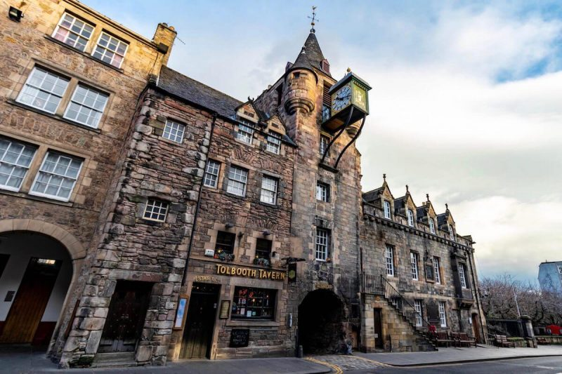 Edimburgo capitale Scozia