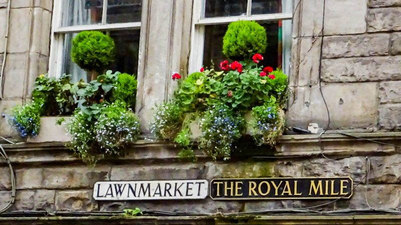 The Royal Mile Edimburgo