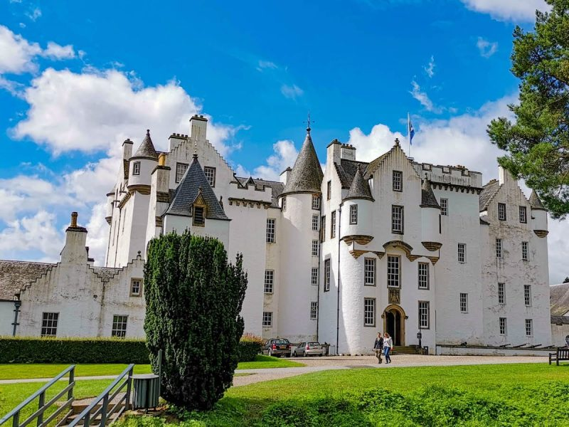 Blair Castle esterni