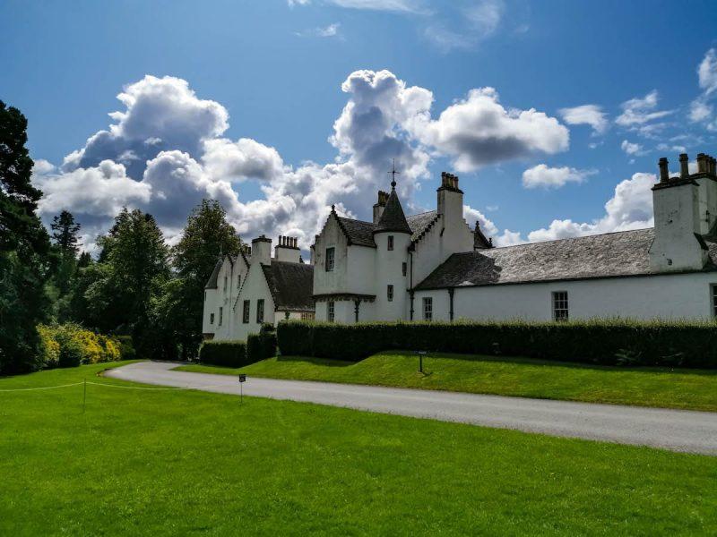 Blair Castle castello bianco