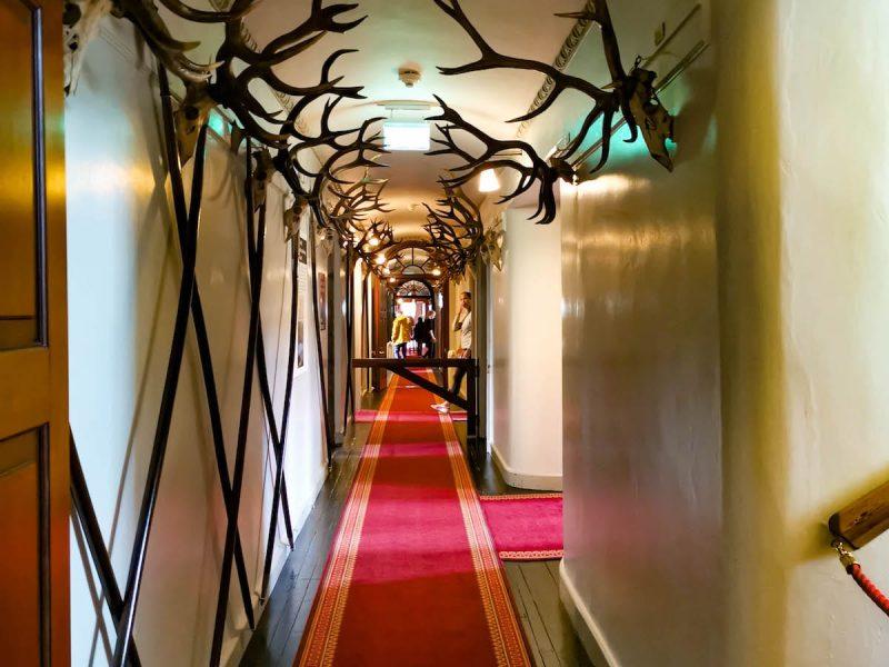 Blair castle corridoio