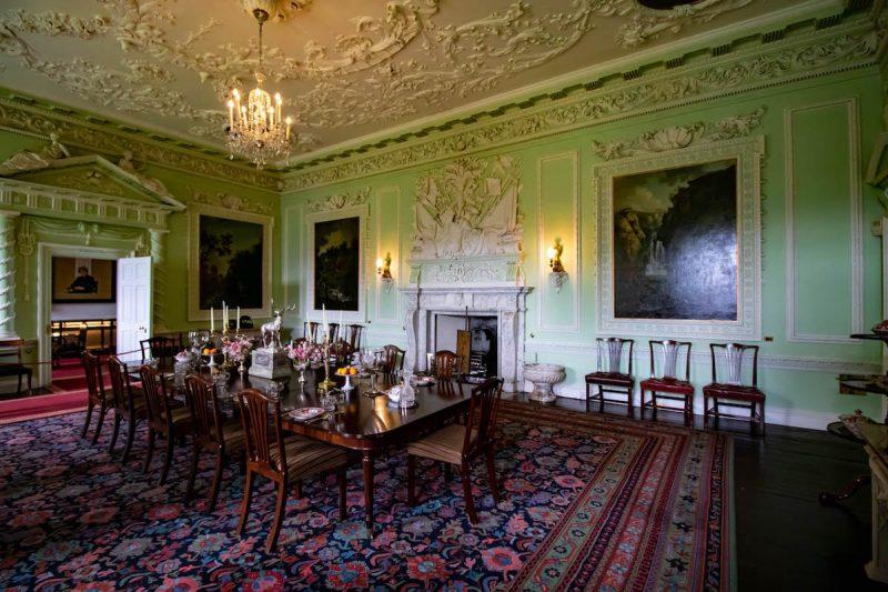 Blair Castle sala  pranzo