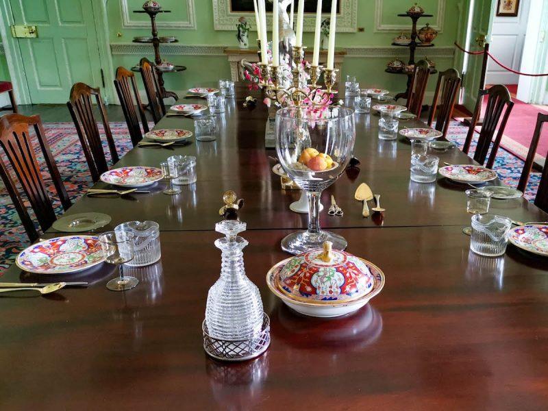 Blair castello sala pranzo