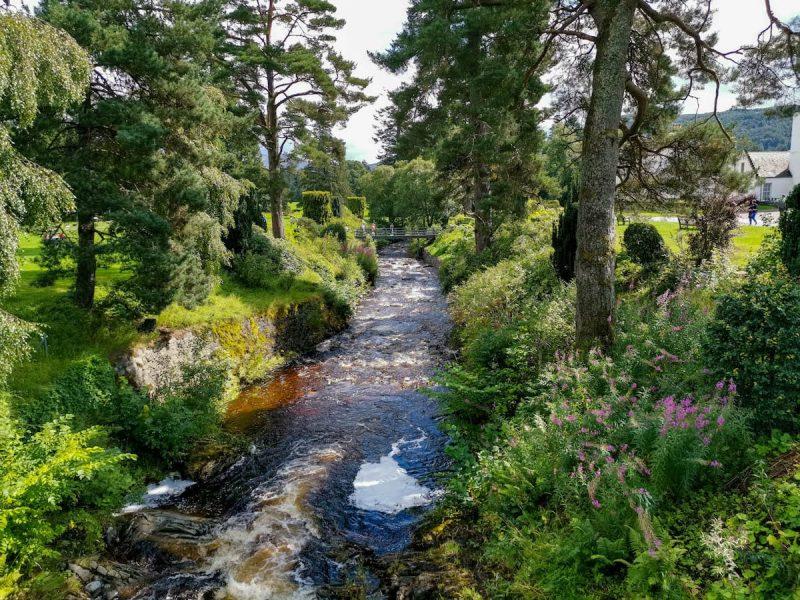 Blair Cstle giardini