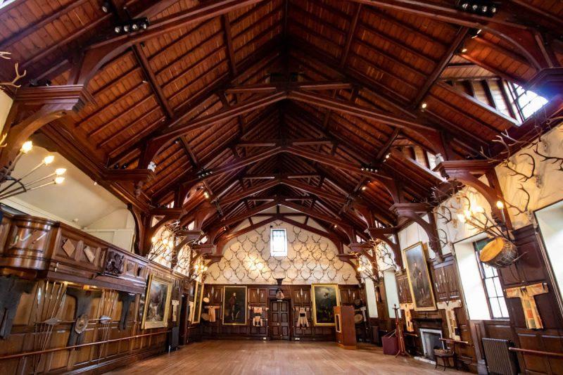 Blair castle sala ballo