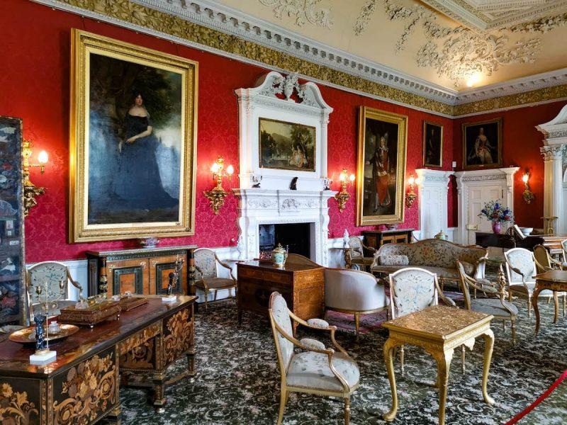 Blair castle salotto