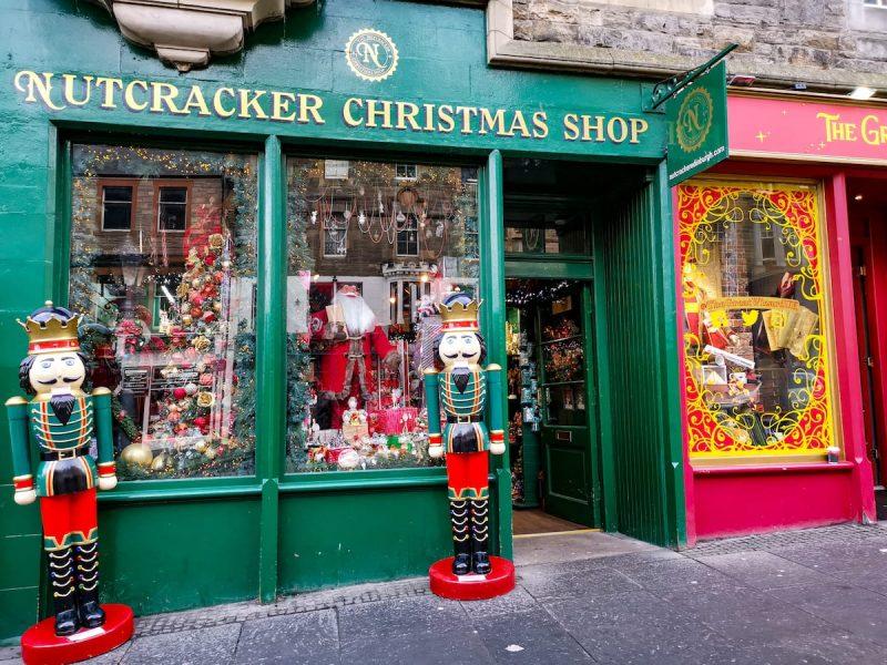 Christmas Shop Edinburgh