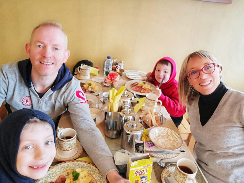 Kathmore Guesthouse colazione