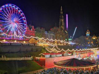 Mercatini Natale Edimburgo