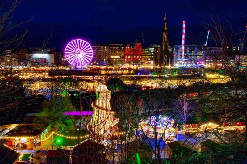 Edimburgo Natale magia