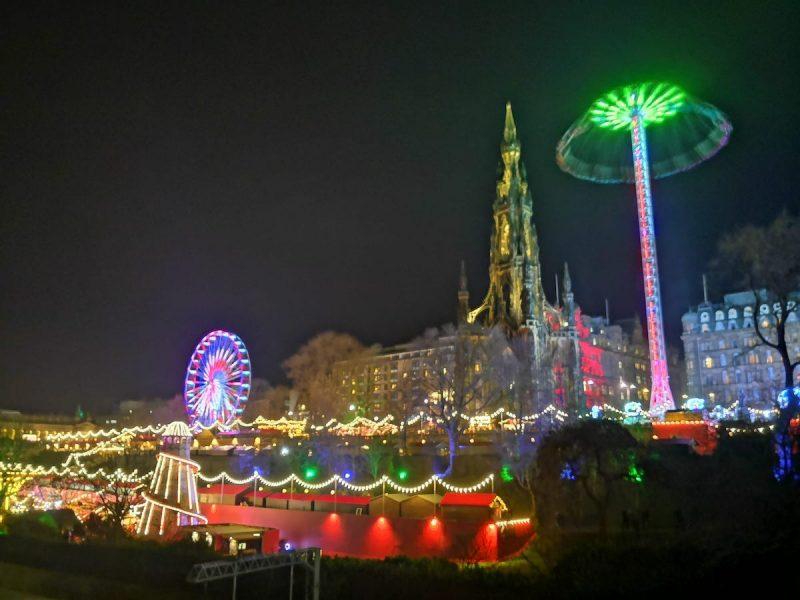 Edimburgo magia Natale