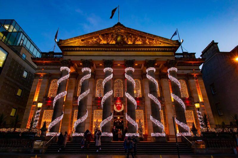 Edimburgo Natale Dome