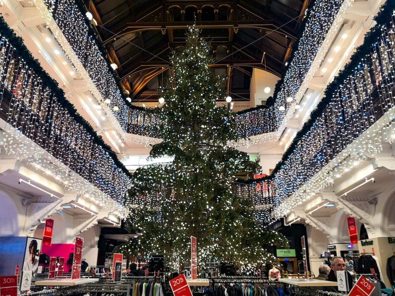 Natale jenners Edinburgh