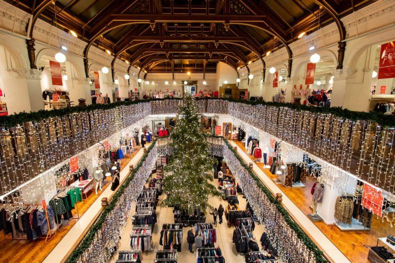 Jenners Edimburgo Natale