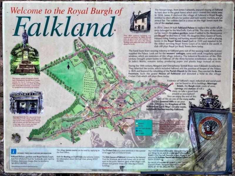 Falkland scozia Outlander